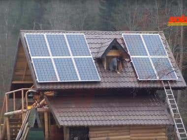 Photovoltaic Off Grid system