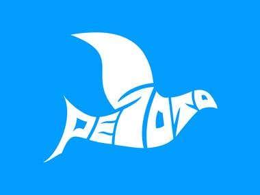 Logo for shipping company