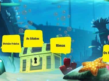 Aventura na Ilha das Palavras