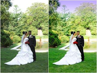 retouch wedding photos