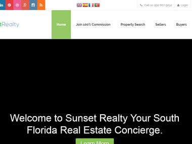 Real Estate Services - SunsetFL - www.sunsetfl.com