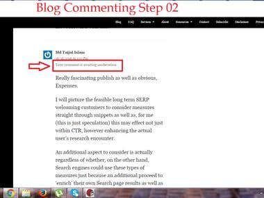 Blog Commenting Demo