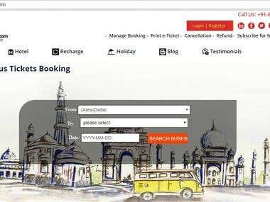 Online Travel Portal Design & Development