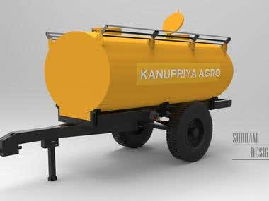 Designing of Water Tanker