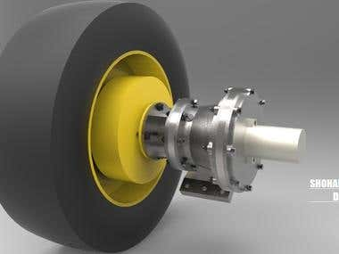 Designing of gearbox for special purpose vehicle.