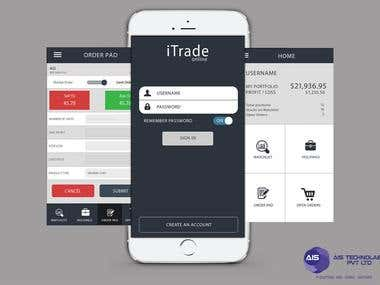 iTrade: Stock trading App