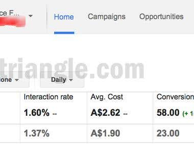 E-commerce-Increased Sales by 152% through Adwords