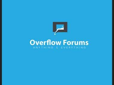 """Logo for """" Overflow Forums """""""