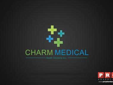 Logo for a medical company