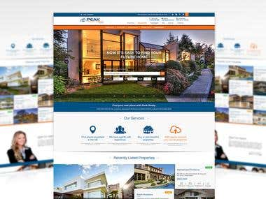 Century 21 - Peak Residential Website Design