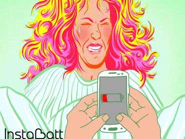 Instabatt- Social Media Campaign