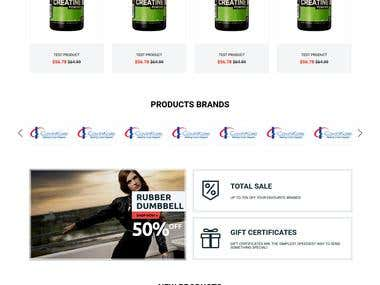 Product Selling Website and UI Design