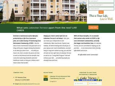 Lakeview Terrace - A Not-for-Profit Life Care Community