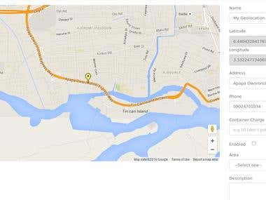 Google Map geolocation and Geocoding Implementation