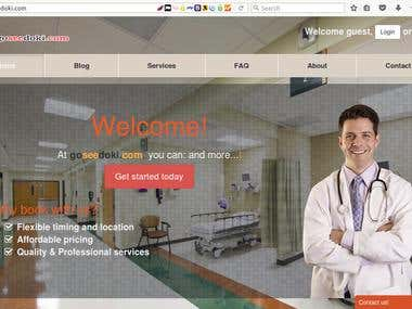 Goseedoki.com virtual doctor diagnosis platform