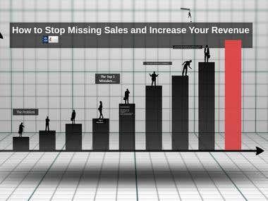 Sales Presentation in Prezi