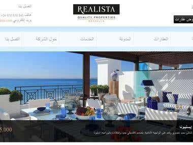 Real Estate Website Translation to Arabic