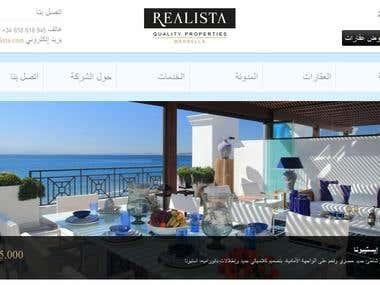 Real Estate Website Translation to Arabic