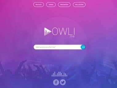 Owli web app