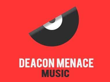 DM Music For Youtube Logo Design