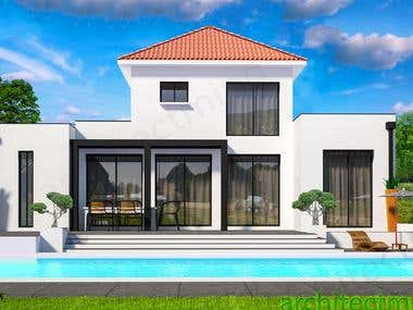 Residential Architectural 3d Visualizations