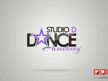 Logo design for a dancing academy