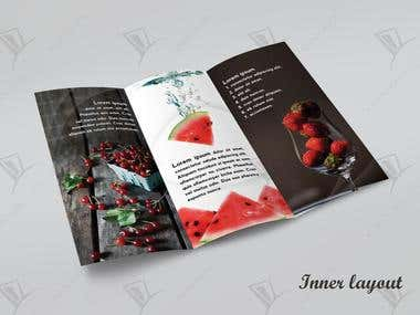 Brochure for Fruit Seller/Distributor/Importer/Exporter