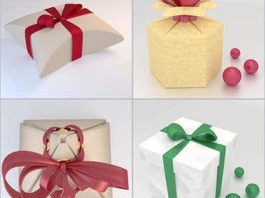 Box for a gift