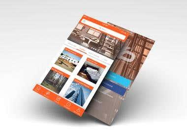 classified ads mobile app UI design