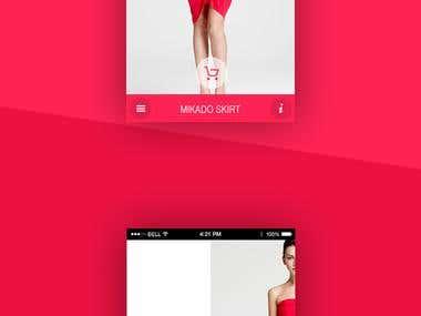 Design Shopping Mobile Application