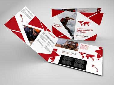 Design Broucher Travel Company