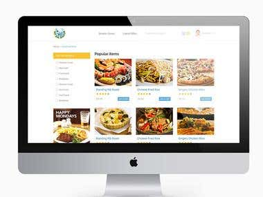 Updablock Food Order Website