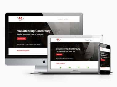 Volcanmatch - Website Design & Devellopment