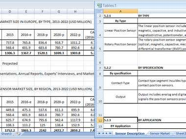 Transfer Excel table screenshots in editable excel tables