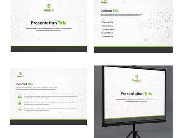 Sample presentation template