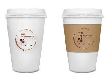Logo & Coffee Cup Mock up
