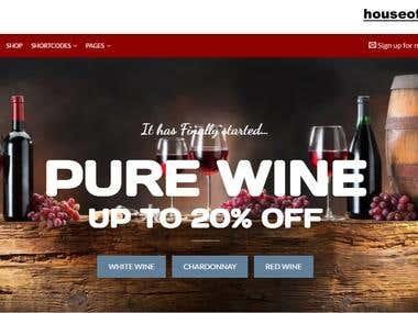 Wine Shop Official Website