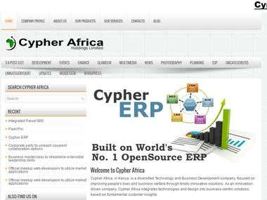 Cypher Africa Official Website