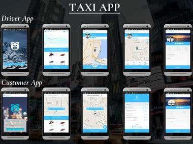 Taxi App (Uber Clone)