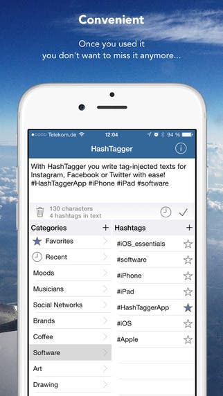 HashTagger for iOS
