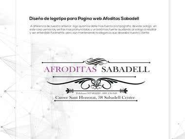 Logo Desing for Afroditas Sabadel