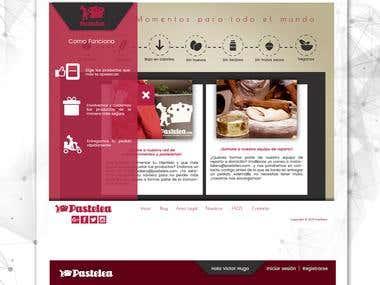 Website Design pastelea.com
