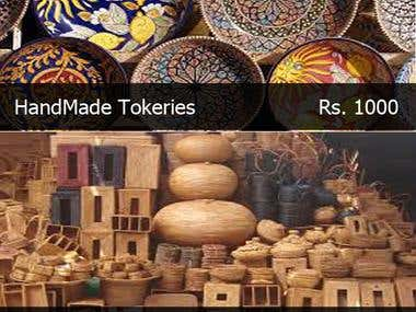 Nagpur Handicraft Ecommerce application