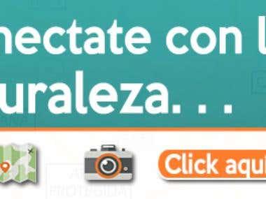 Banner Design Ecoturismo.com.ar