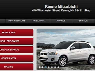Keene Mitsubishi of Fairfield's Auto Group