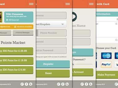 Mobile Design UI