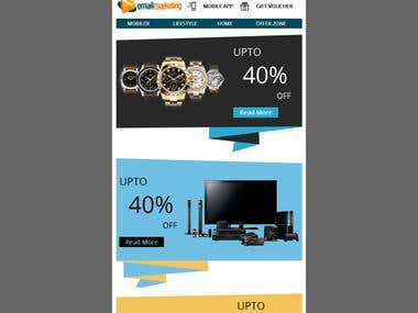 Email Marketing Email template