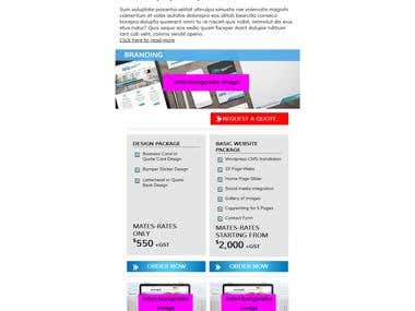 Magnetize Email template