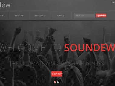 Soundew - A Music Sharing Platform