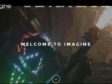 ImaginePuntaCana: Events Ticket Booking Website